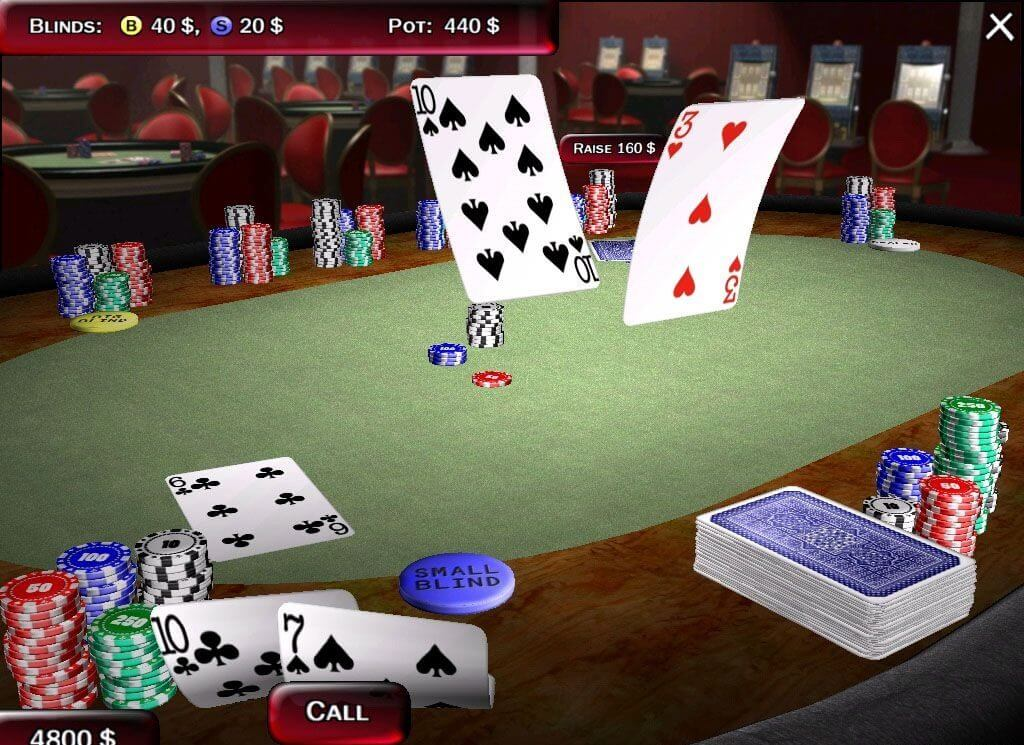 Texas Hold'em poker online game